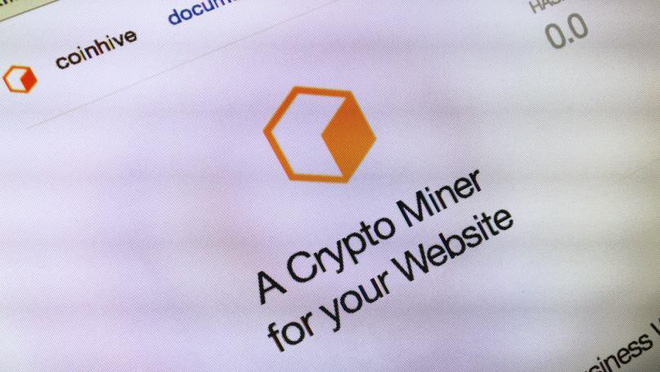 Ứng dụng đào tiền mã hóa Coinhive đã trở thành phần mềm độc hại phổ biến nhất trên Internet.