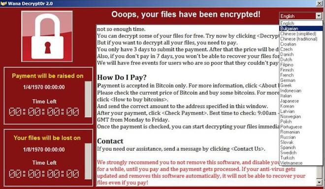 Các phần mềm đào tiền mã hóa thậm chí còn nguy hiểm hơn cả những ransomware như WannaCry.