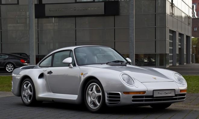 Chiếc Porsche 959 của tỷ phú Bill Gates.