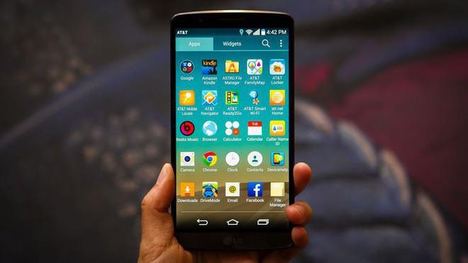 G3, chiếc smartphone đầu tiên có viền siêu mỏng.
