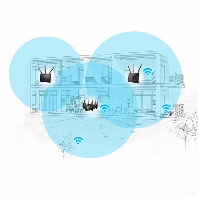 Trải nghiệm tính năng AiMesh trên router ASUS: Wi-fi giờ cũng có trí thông minh - Ảnh 11.
