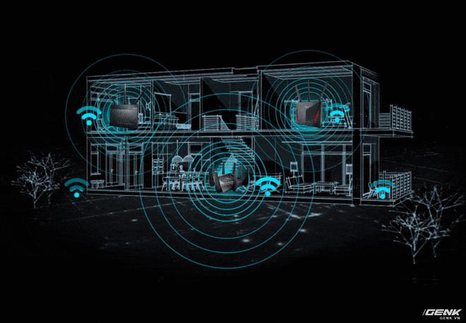 Trải nghiệm tính năng AiMesh trên router ASUS: Wi-fi giờ cũng có trí thông minh - Ảnh 10.
