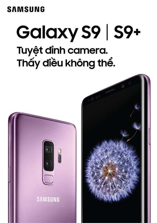 Galaxy S9, S9+ chính thức ra mắt: Camera nâng cấp lớn với khẩu độ thay đổi được, quay video 960 fps, AR Emoji - Ảnh 1.