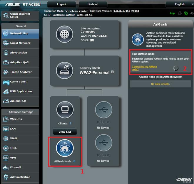 Trải nghiệm tính năng AiMesh trên router ASUS: Wi-fi giờ cũng có trí thông minh - Ảnh 4.
