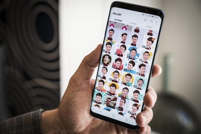 Người dùng có thể thỏa sức sáng tạo với những thư viện hoạt hình với nhân vật và biểu cảm khuôn mặt độc đáo trên Galaxy S9 và S9+