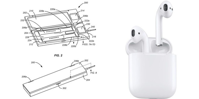 Apple nhận bằng sáng chế hộp sạc không dây phong cách AirPods cho Apple Watch - Ảnh 2.