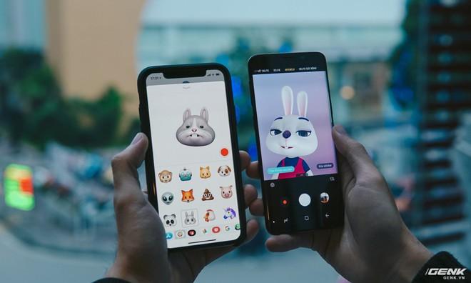Bonus: Một chút so sánh giữa Animoji chú thỏ mà hai thiết bị tạo ra bằng camera trước. Hãy cùng chờ đón những đánh giá chi tiết hơn về Galaxy S9 trong những bài viết sắp tới nhé.