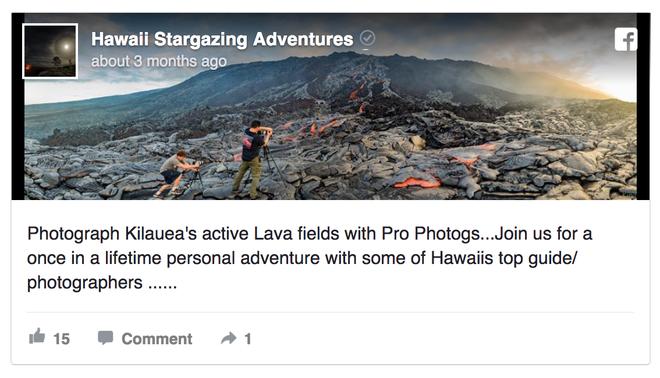 Một nhiếp ảnh gia tử vong khi đang dẫn tour chụp ảnh dung nham ở Hawaii - Ảnh 2.