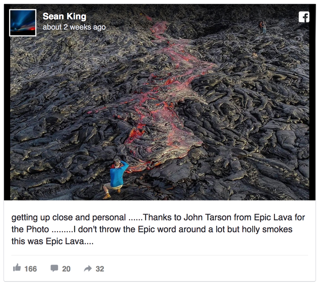 Một nhiếp ảnh gia tử vong khi đang dẫn tour chụp ảnh dung nham ở Hawaii - Ảnh 4.