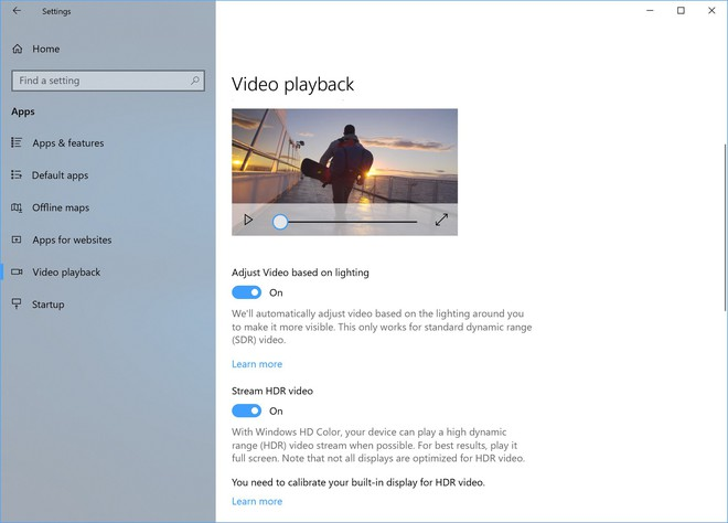 Microsoft sẽ khai thác triệt để tiềm năng của HDR trong bản Build này.