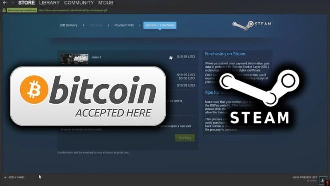 Valve cũng đã loại bỏ bitcoin ra khỏi danh sách những hình thức thanh toán được chấp nhận trên Steam.