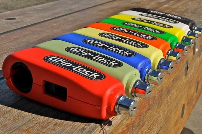 Khoá Grip-Lock có đến 10 màu sắc khác nhau.