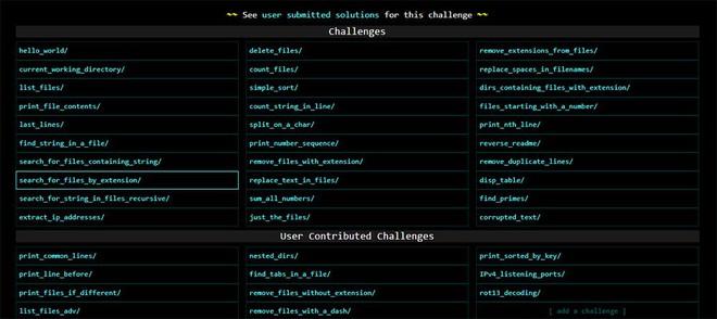 """Thử kiểm tra kiến thức lập trình và khả năng """"múa code"""" với công cụ trực tuyến CMD Challenge - Ảnh 2."""
