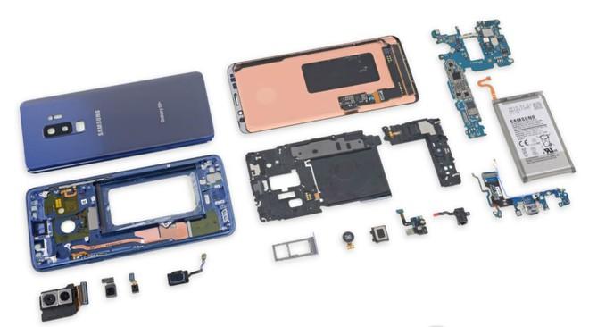 iFixit mổ bụng Galaxy S9+: Cách bố trí tương tự S8+ nhưng có một số thay đổi quan trọng, khó sửa - Ảnh 7.