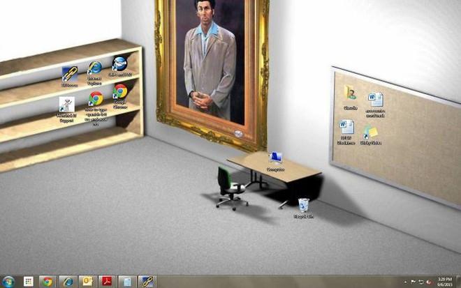 [Vui] Tổng hợp loạt hình nền máy tính hài hước nhất, Internet Explorer chuyên bị bắt nạt - Ảnh 4.