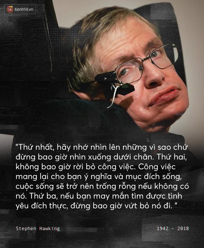 Những câu nói để đời của Stephen Hawking: Từ suy nghĩ giản đơn về cuộc đời cho tới triết lý mang tầm vũ trụ - Ảnh 1.