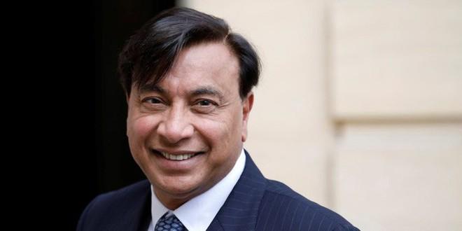 Ông trùm thép Lakshmi Mittal.