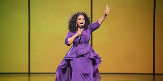 Tỷ phú Oprah Winfrey.