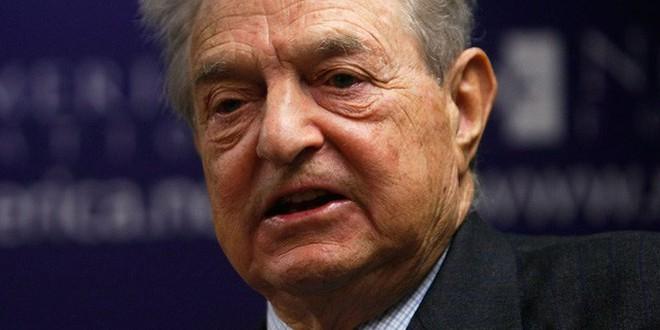 Thương gia George Soros.