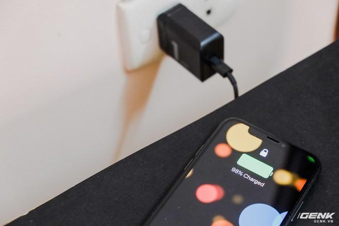 Trải nghiệm bộ sạc nhanh giá rẻ cho iPhone X & iPhone 8: Giá bằng 1/4 Apple, đạt 50% trong 30 phút, kèm dây Lightning sang USB-C - Ảnh 8.