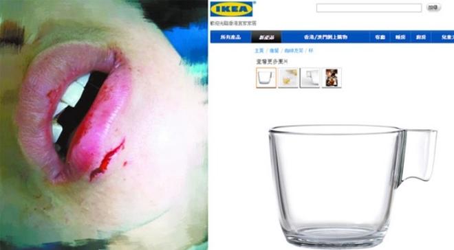 Bị thương vì cốc thủy tinh phát nổ, người phụ nữ Trung Quốc kiện IKEA, đòi bồi thường 3,6 tỷ đồng - Ảnh 1.