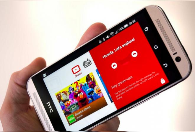 YouTube Kids là phiên bản đặc biệt với nội dung video phù hợp với các em nhỏ.