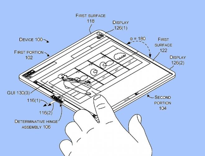 Bằng sáng chế này đã xác nhận Microsoft vẫn chưa từ bỏ tham vọng về một thiết bị Surface Phone mới.