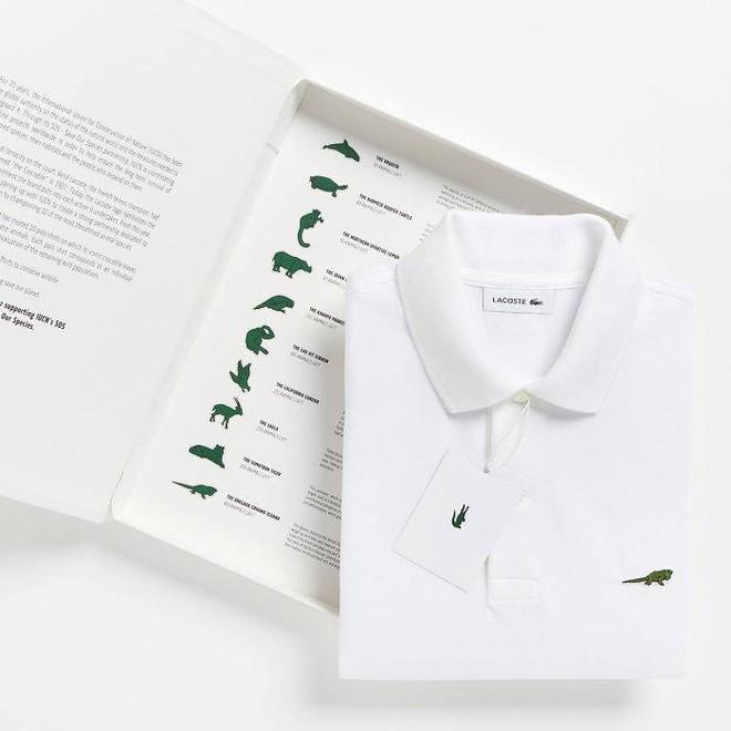 Lacoste thay thế logo cá sấu trên áo polo bằng 10 loài động vật có nguy cơ tuyệt chủng - Ảnh 3.