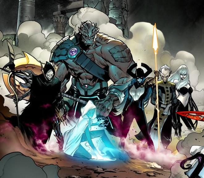 Nhóm tay chân thân cận của gã đồ tể Thanos lần đầu xuất hiện nguyên team trong trailer mới nhất của Avenger: Infinity War.