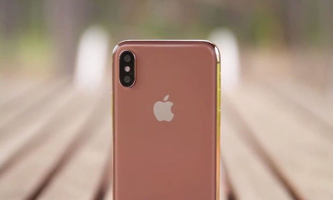 Apple chuẩn bị tung ra phiên bản iPhone X với màu Blush Gold - Ảnh 1.