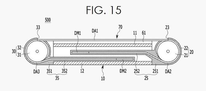 Lộ bằng sáng chế mới về smartphone có thể kéo rộng màn hình của Samsung - Ảnh 3.