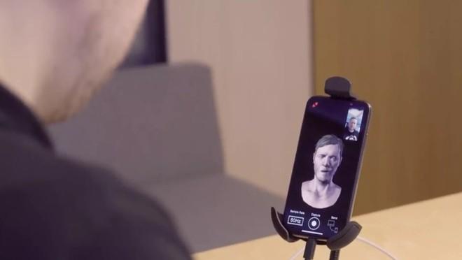 iPhone X có thể giúp biểu cảm của các nhân vật trong trò chơi sinh động và thực tế hơn - Ảnh 1.