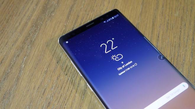 Samsung Galaxy Note9 và Huawei Mate 11 sẽ sở hữu cảm biến vân tay dưới màn hình? - Ảnh 1.