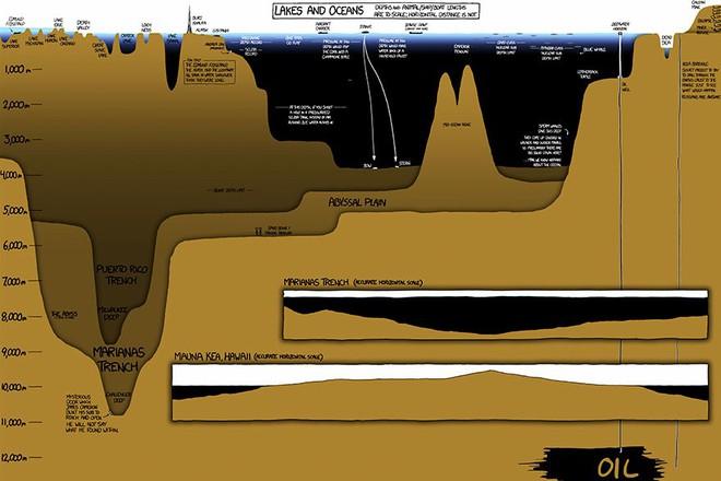 Bộ tranh minh họa này sẽ cho bạn thấy độ sâu kinh hoàng của đại dương - Ảnh 2.