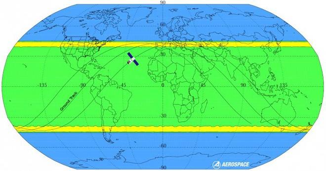 Trạm không gian nặng 9,4 tấn của Trung Quốc sắp rơi xuống Trái Đất, và chẳng ai biết nó sẽ rơi ở đâu - Ảnh 3.