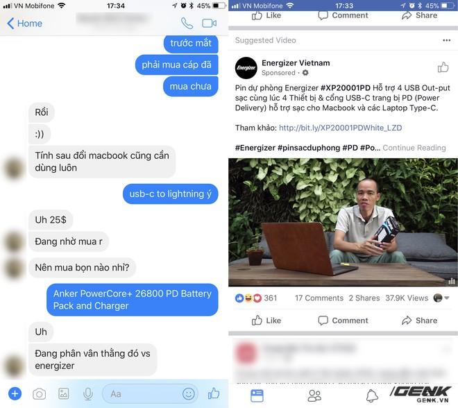 Facebook đọc tin nhắn của người dùng để có thể đưa ra các quảng cáo phù hợp