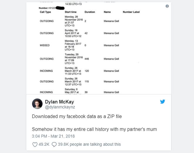 Các thiết bị Android đang bị Facebook thu thập dữ liệu về lịch sử cuộc gọi và SMS từ hàng năm nay - Ảnh 1.