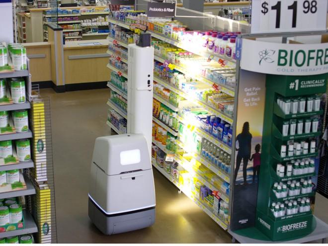 Những robot mới giúp nâng cao hiệu quả hoạt động của siêu thị