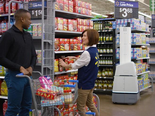 Robot trong siêu thị của Walmart