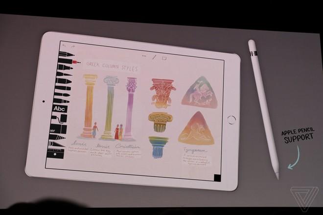 Apple đã cho ra mắt mẫu iPad hoàn toàn mới trong sự kiện lần này.