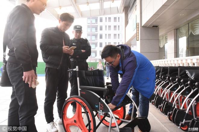 Trung Quốc triển khai dịch vụ xe lăn chia sẻ, 1 triệu đồng/2 giờ thuê, mỗi 10 phút sau tính thêm 3600 đồng - Ảnh 3.