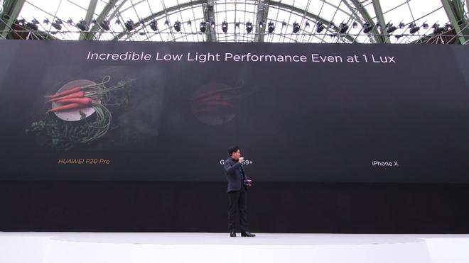 Khả năng chụp ảnh thiếu sáng cực ấn tượng của Huawei P20 Pro.