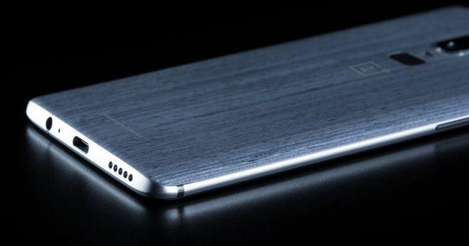 Nắp lưng bằng gỗ sẽ là điểm nhấn độc đáo của OnePlus 6.