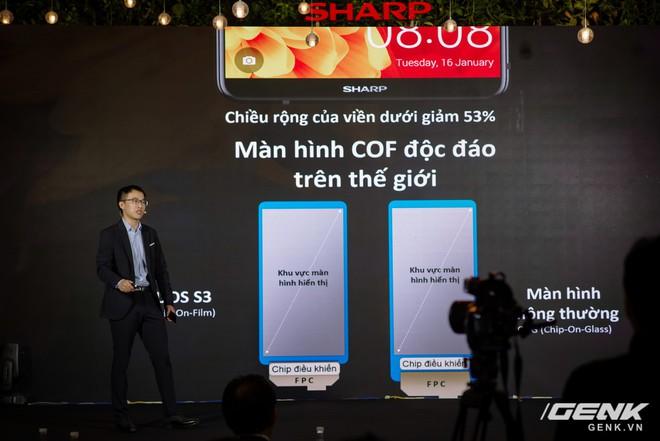 Sharp Aquos S3 chính thức ra mắt: thiết kế tai thỏ, có Face ID, áp dụng cả công nghệ chống va đập của siêu xe, giá 8.990.000 đồng - Ảnh 6.