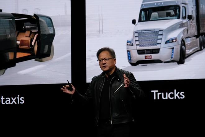 CEO Jensen Huang xác nhận Uber sẽ không sử dụng nền tảng tự động Drive do hãng cung cấp.