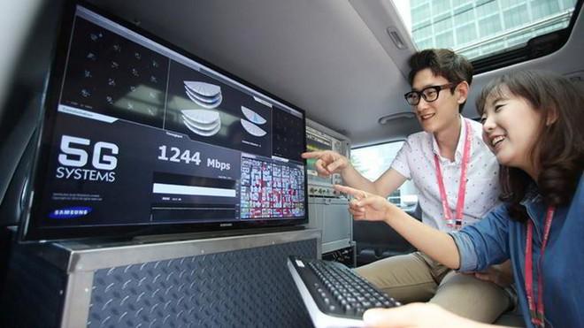 Gã khổng lồ công nghệ Hàn Quốc từ lâu đã chú ý tới tiềm năng của công nghệ mạng 5G khi chúng chưa phổ biến