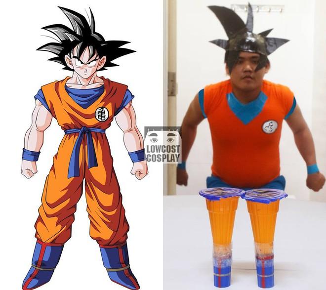 [Vui] Qùy lạy với bộ ảnh cosplay Dragon Ball Z siêu hài hước của anh chàng Thái Lan - Ảnh 3.