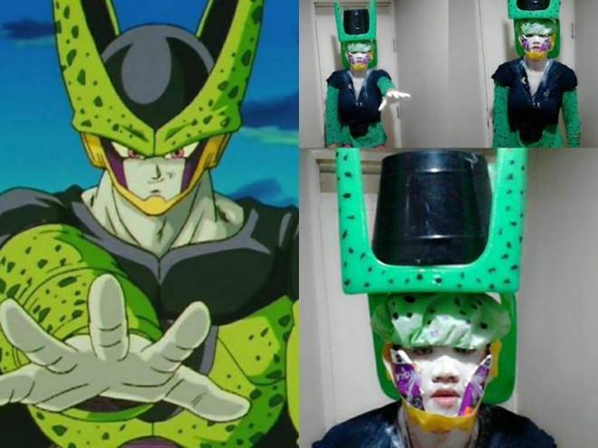 [Vui] Qùy lạy với bộ ảnh cosplay Dragon Ball Z siêu hài hước của anh chàng Thái Lan - Ảnh 7.