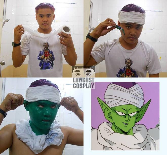 [Vui] Qùy lạy với bộ ảnh cosplay Dragon Ball Z siêu hài hước của anh chàng Thái Lan - Ảnh 9.