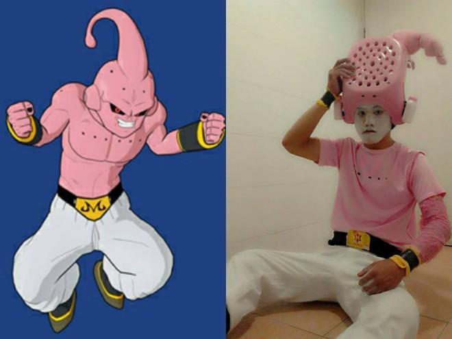 [Vui] Qùy lạy với bộ ảnh cosplay Dragon Ball Z siêu hài hước của anh chàng Thái Lan - Ảnh 10.